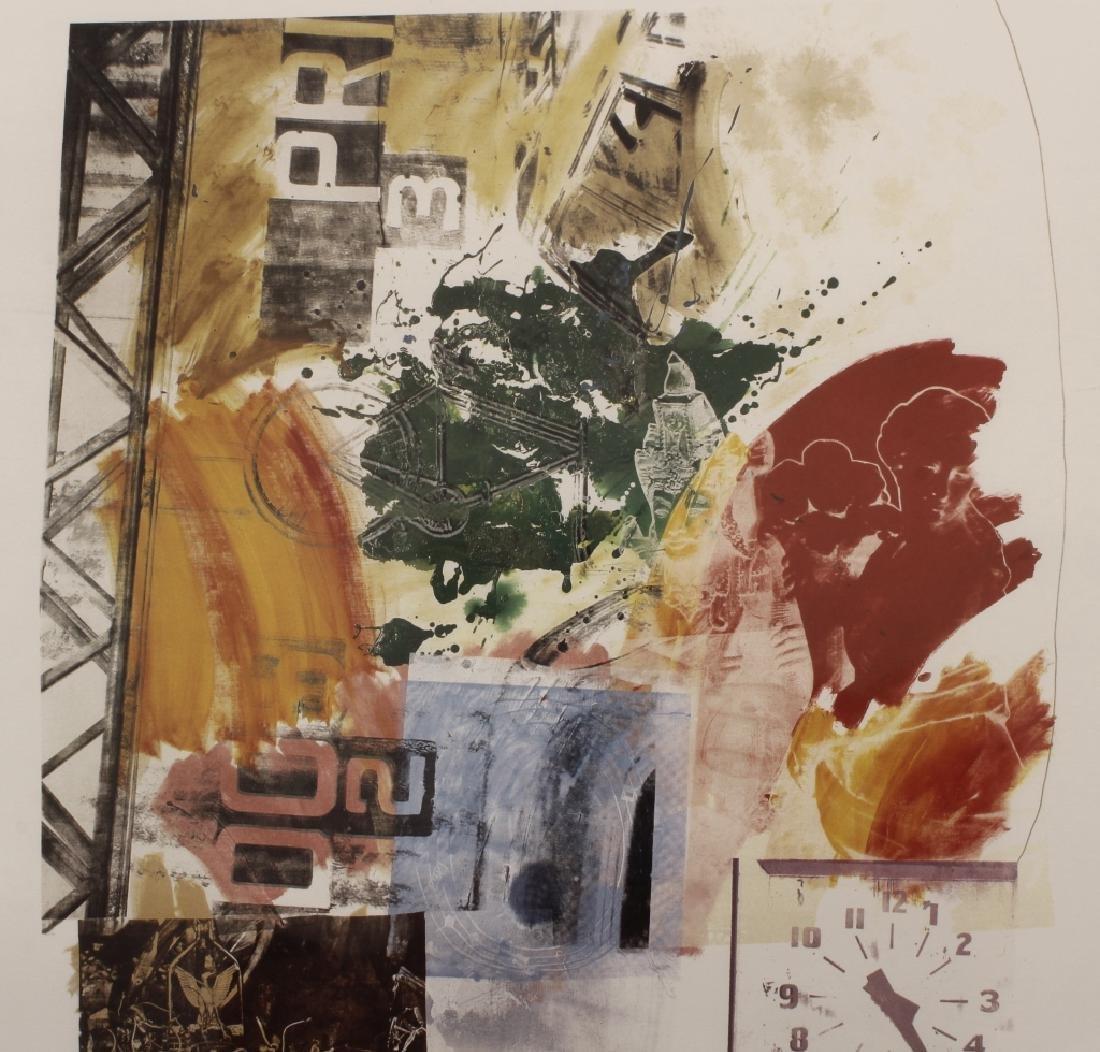 Rauschenberg, 1925-2008, Untitled, Litho, 1984