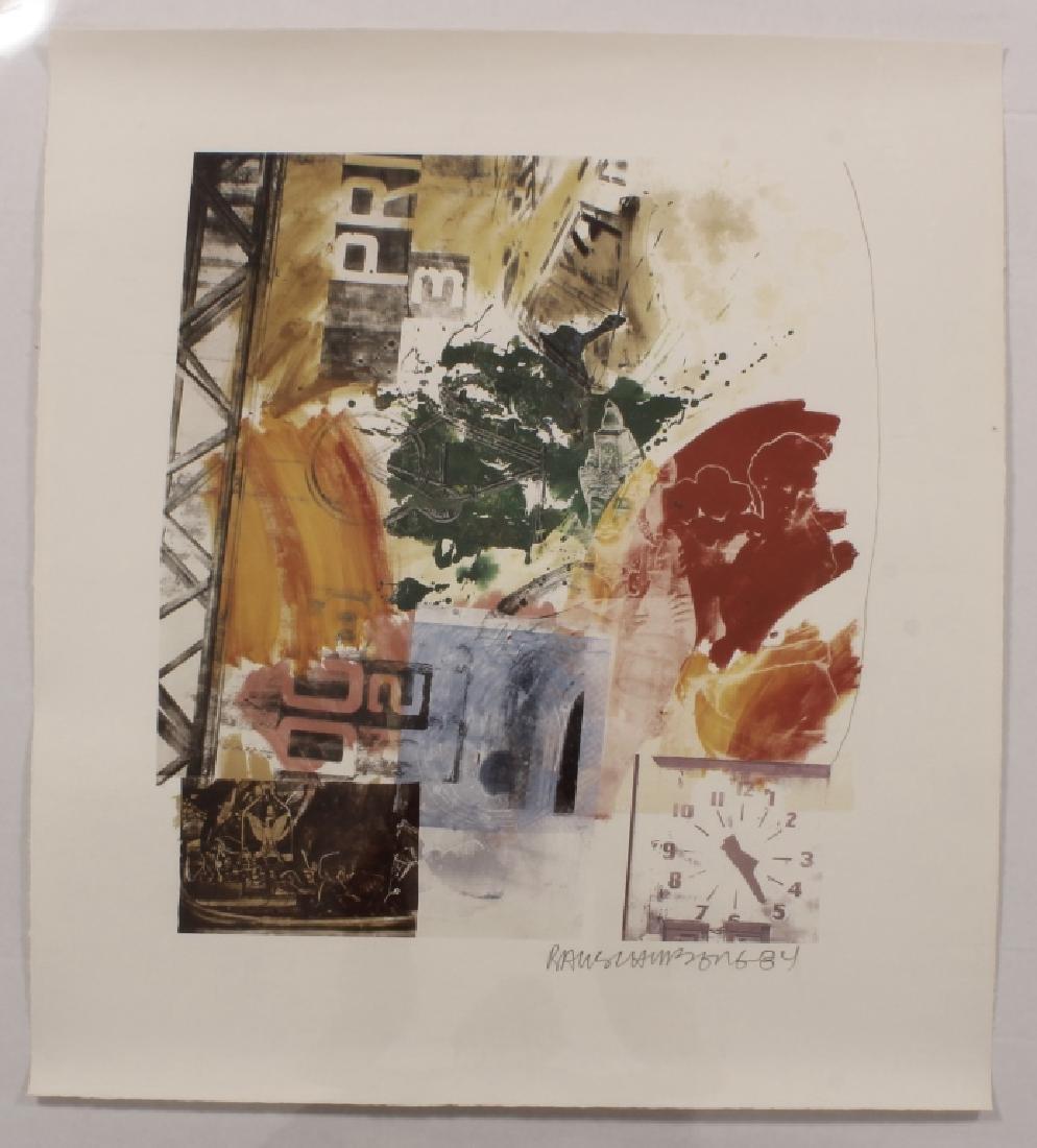 Rauschenberg, 1925-2008, Untitled, Litho, 1984 - 2