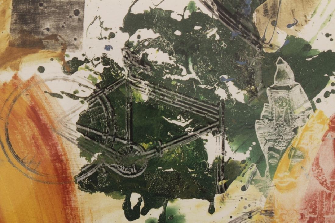 Rauschenberg, 1925-2008, Untitled, Litho, 1984 - 4