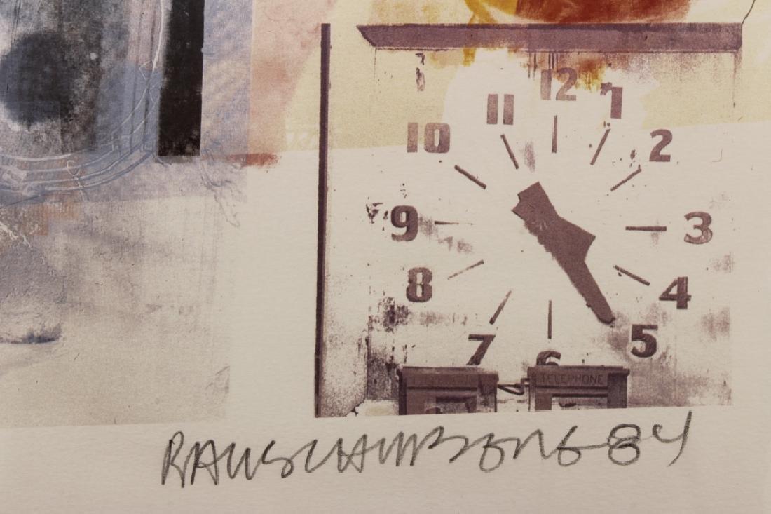 Rauschenberg, 1925-2008, Untitled, Litho, 1984 - 5