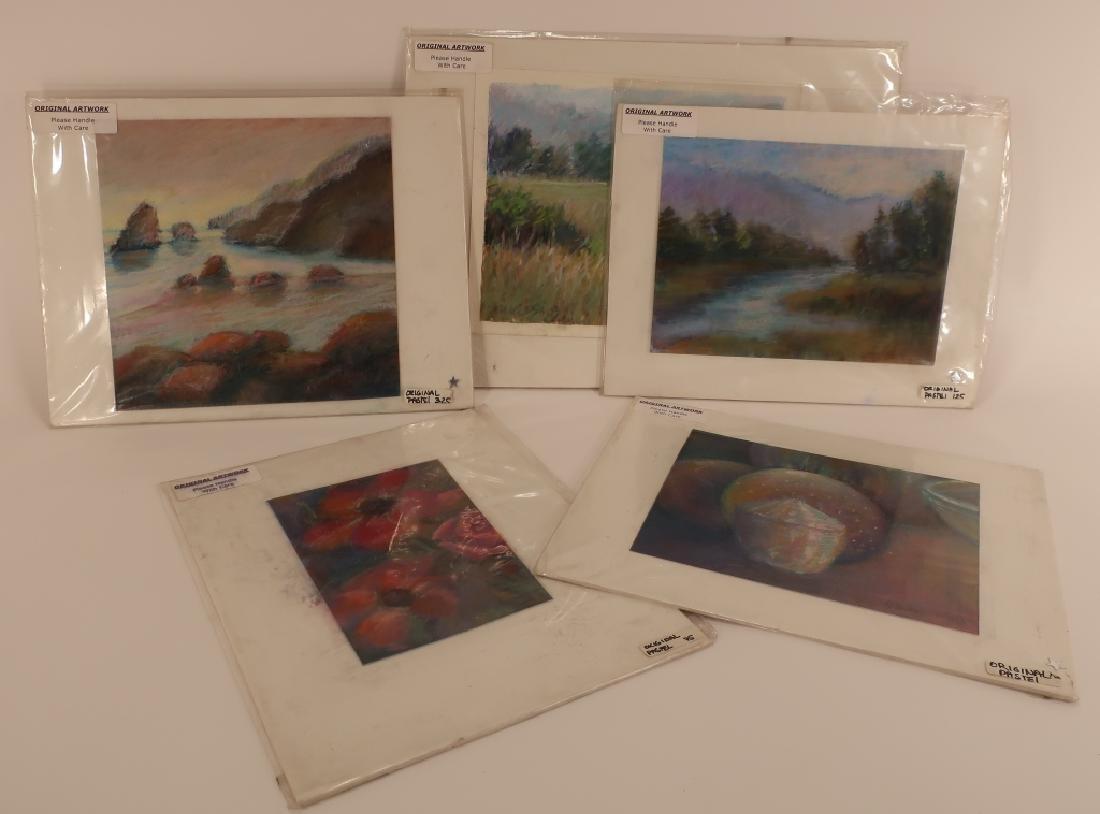 Sandra Rubel, Am. 5 Contemporary Pastels - 2