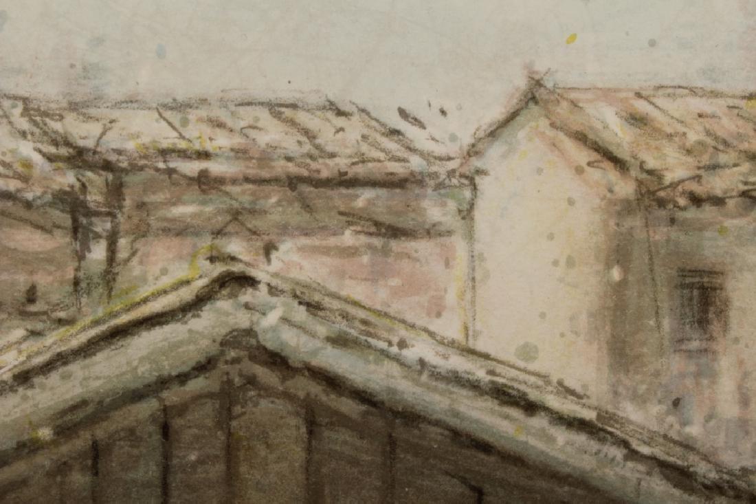 Lot of 2 Bruno Zupan Venice Scenes Lithographs - 4