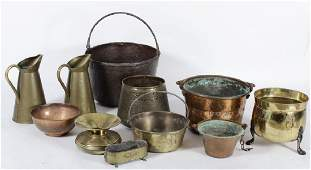 Brass Vessels th to 20th c