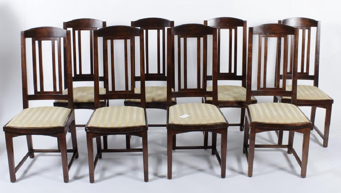 Set of 8 Pace Collection Dining Chairs