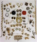 Vintage Designer Jewelry Lot, Leiber, Monet, etc.