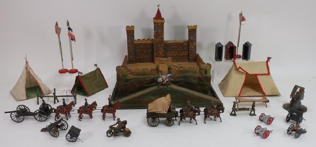 Toy Castle,Soldiers,includes Johillco