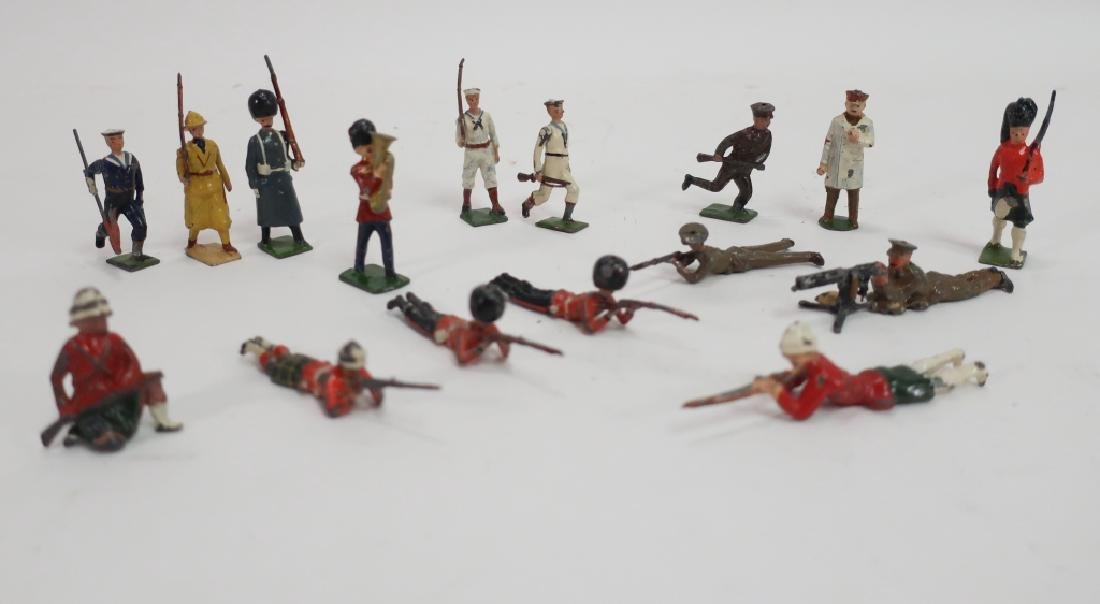 Toy Infantry Figures, Britains, Johillco