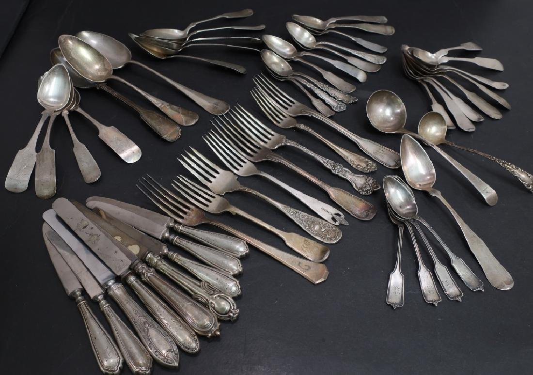50+ Sterling & Coin Silver Assorted Flatware