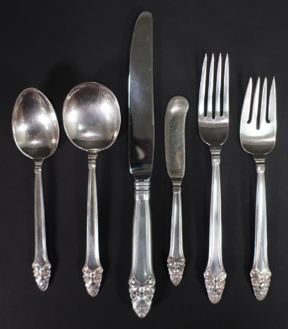 92 Gorham Sterling Silver Flatware Service for 12