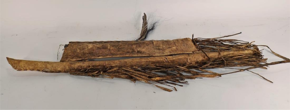 Plains Indian Bow and Arrow w/ Painted Quiver - 4