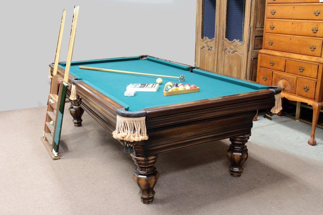 Brunswick Pool Table. Later 20th c. - 2