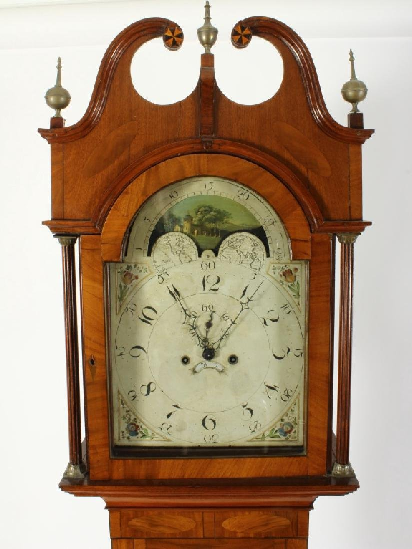 American Federal Mahogany Tallcase Clock, 1790