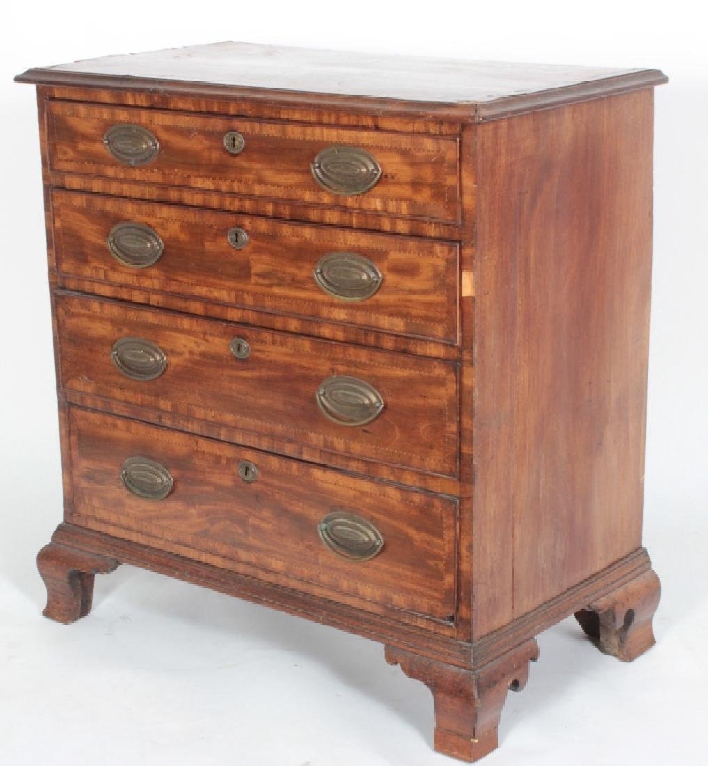 Georgian Mahogany Chest of Drawers, c.1780