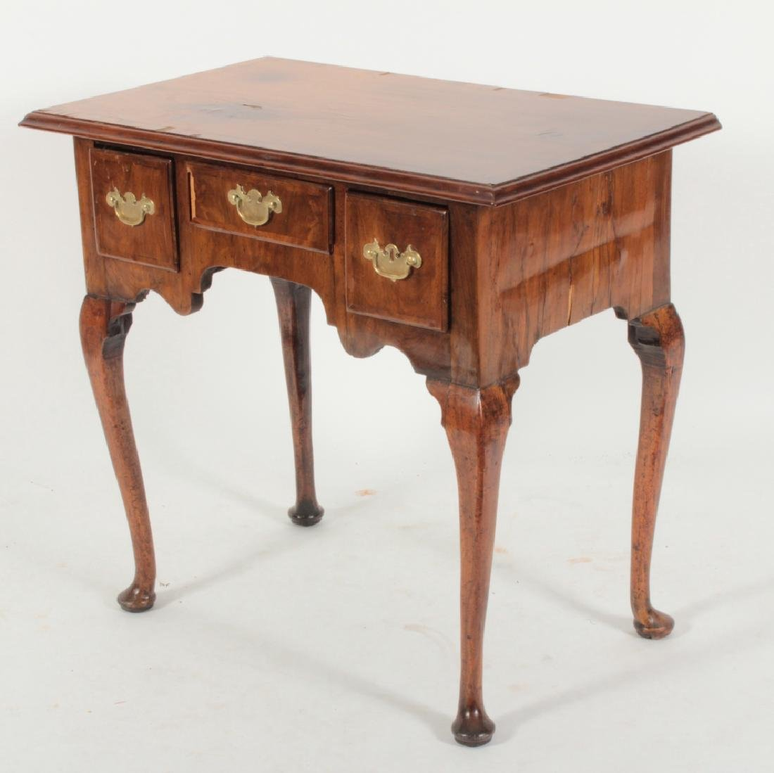 George II Walnut Dressing Table, 18th c.
