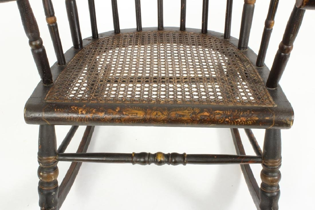 Hitchcock Rocking Chair, E.19th C. - 3