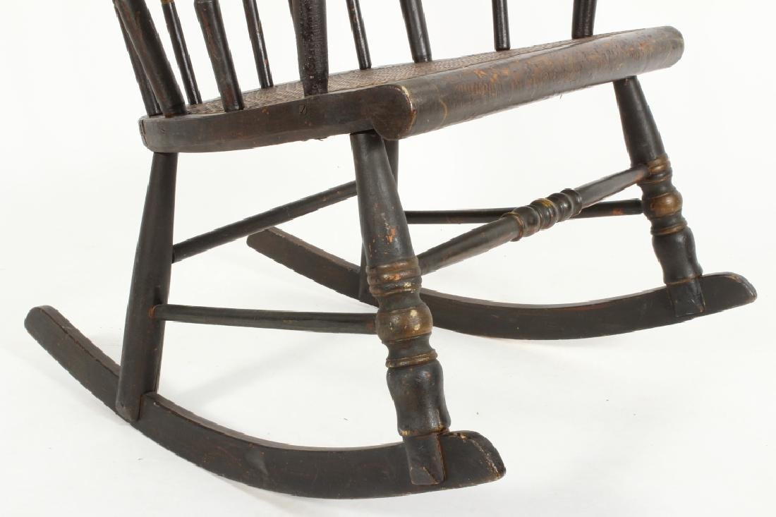 Hitchcock Rocking Chair, E.19th C. - 4