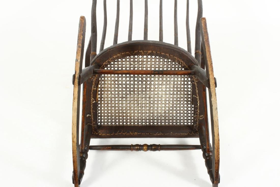 Hitchcock Rocking Chair, E.19th C. - 6