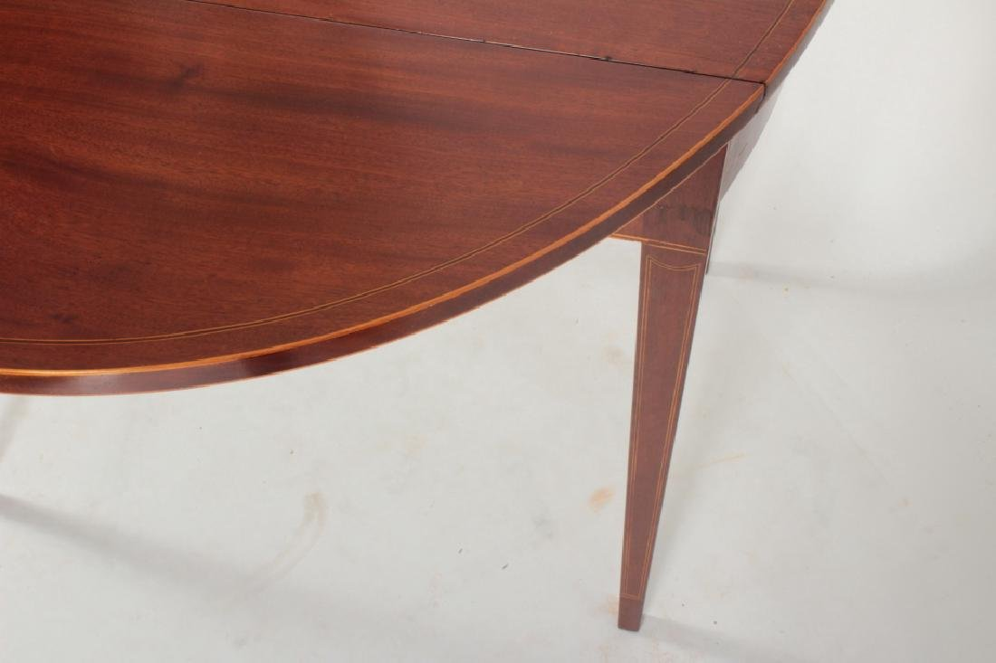Hepplewhite Inlaid Mahogany Drop-Leaf Table c.1820 - 4