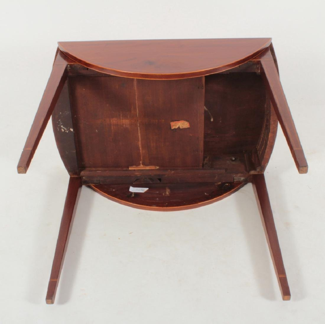 Hepplewhite Inlaid Mahogany Drop-Leaf Table c.1820 - 9