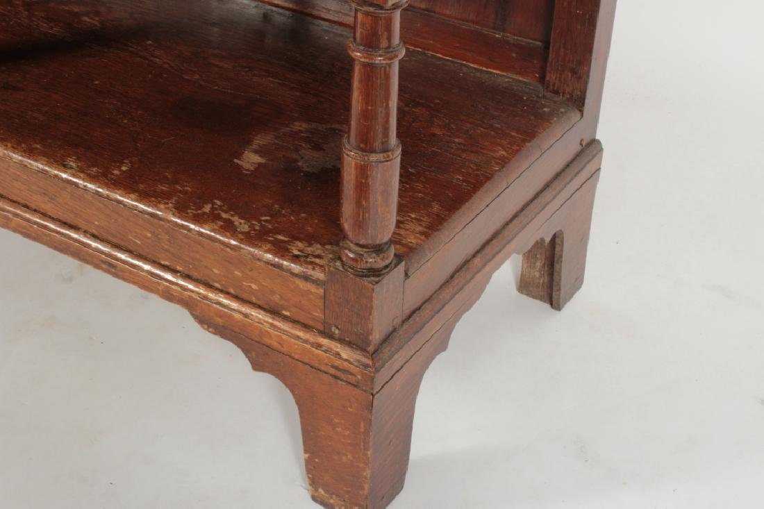 19th c. Welsh Cupboard, Oak  in 2 Parts - 5