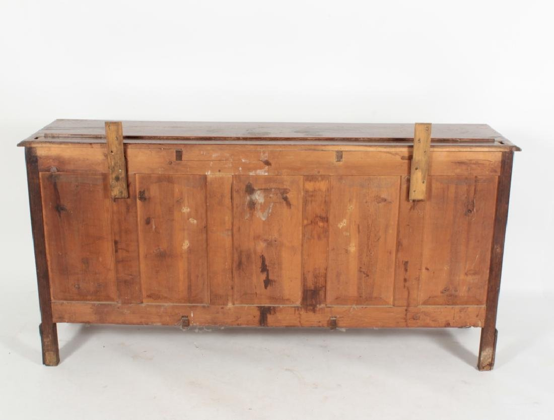 19th c. Welsh Cupboard, Oak  in 2 Parts - 6