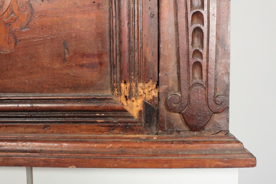 Italian Baroque Bambocci Walnut Writting Cabinet - 7