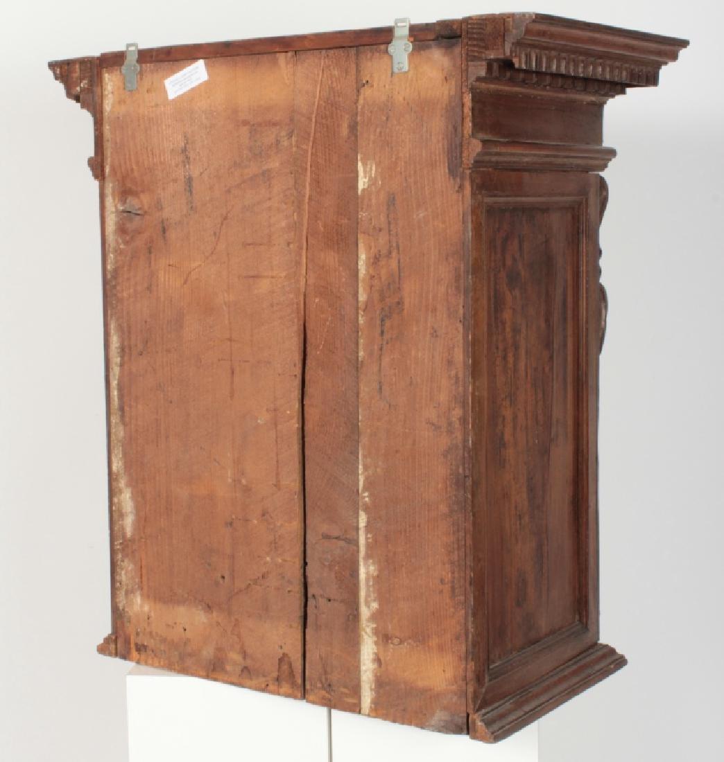 Italian Baroque Bambocci Walnut Writting Cabinet - 9