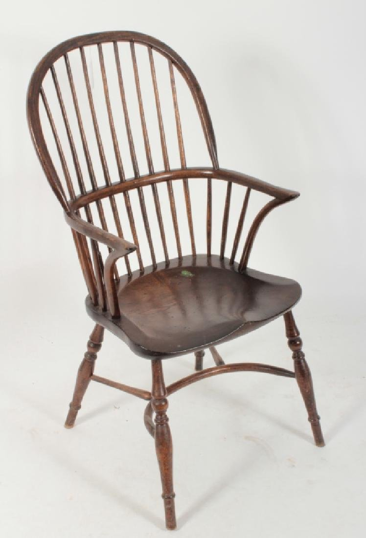 6 Various English Windsor Chairs, 20th C. - 2