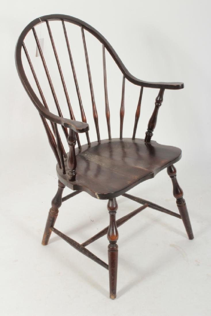 6 Various English Windsor Chairs, 20th C. - 3