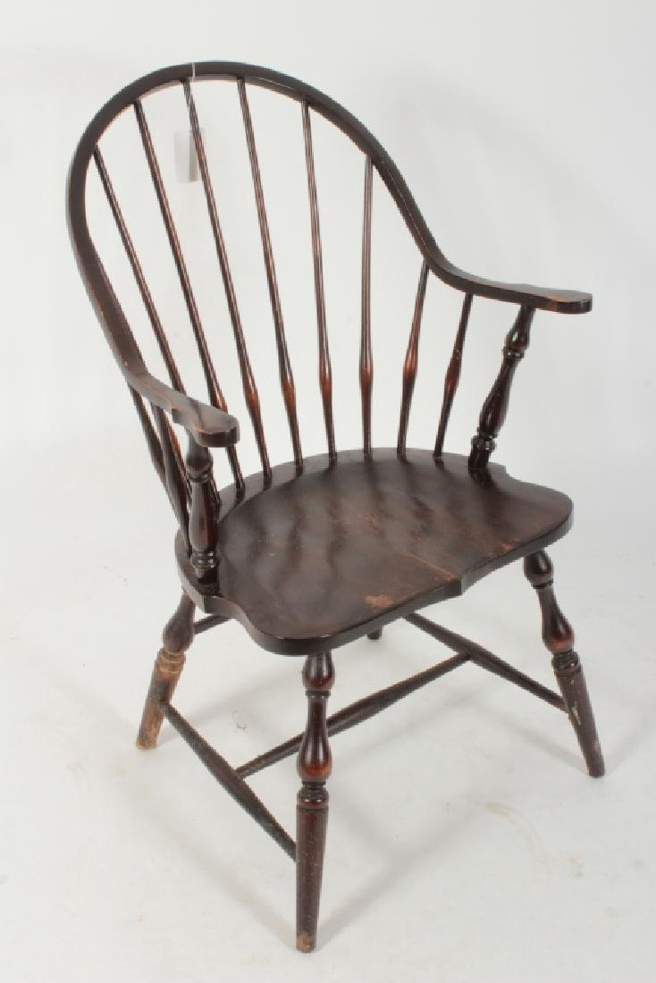6 Various English Windsor Chairs, 20th C. - 4