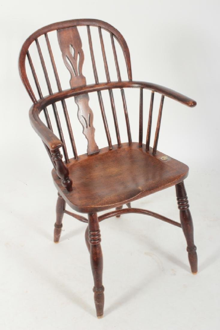 6 Various English Windsor Chairs, 20th C. - 5