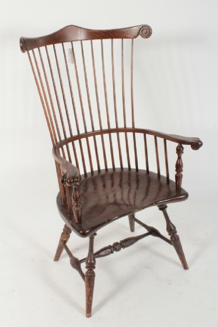 6 Various English Windsor Chairs, 20th C. - 6