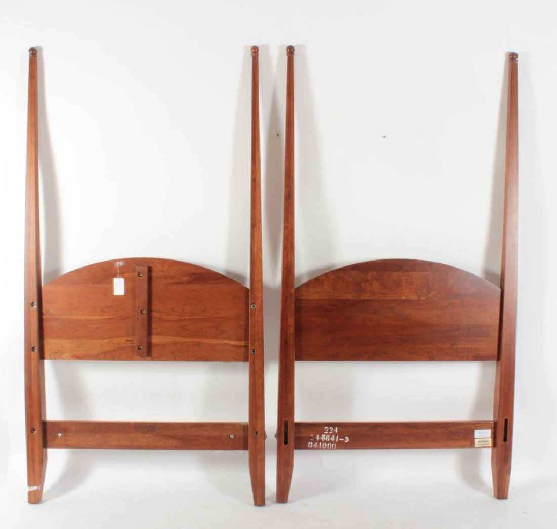 Pair of Ethan Allen Twin Four Poster Beds - 5