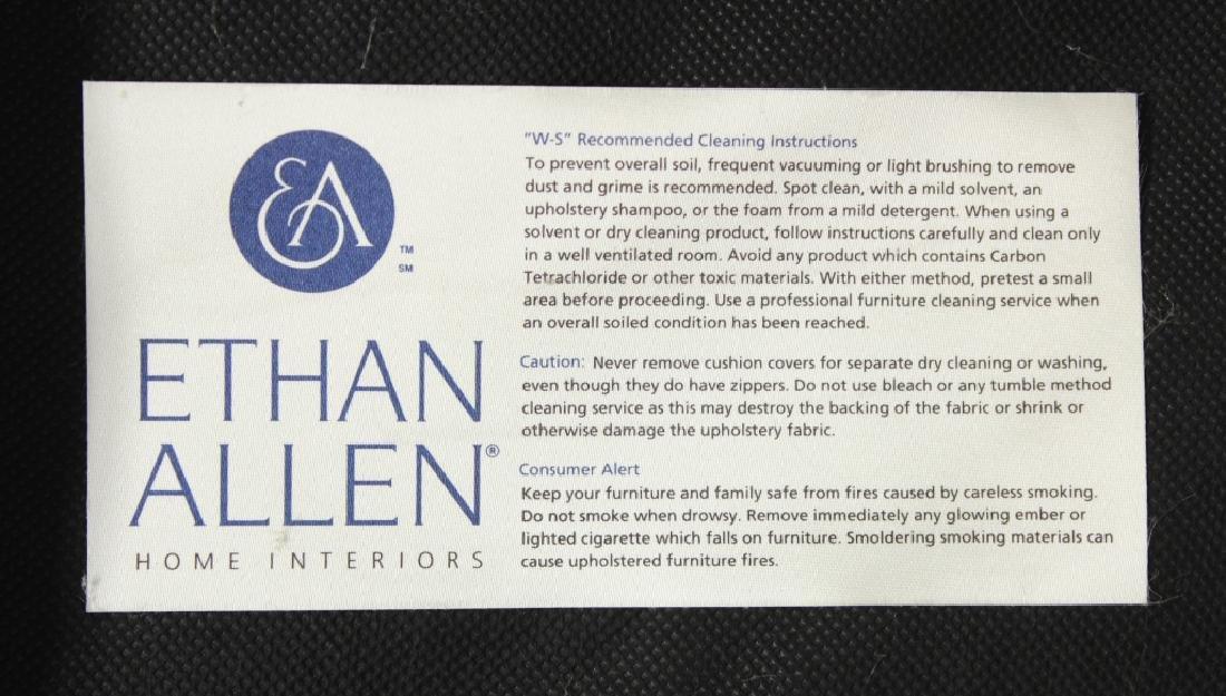 Pr of Ethan Allen Open Armchairs - 5