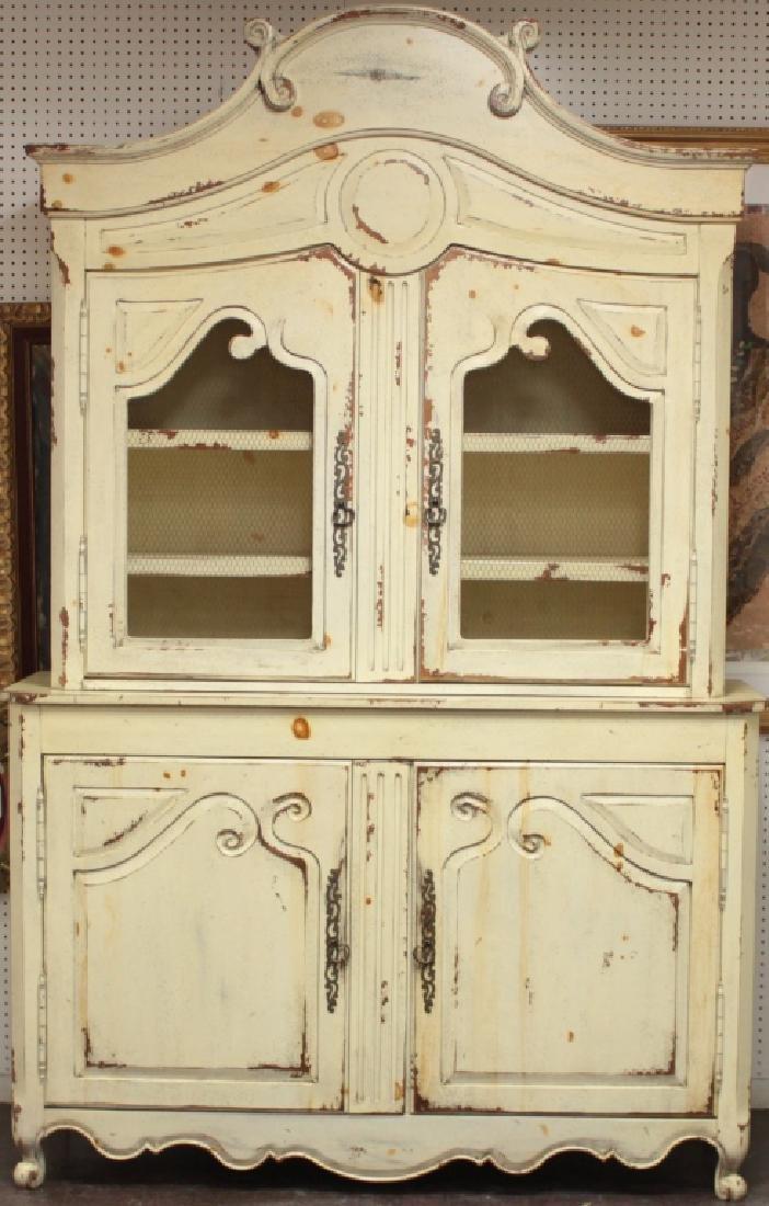 Habersham Plantation 2-Part Louis XV-Style Cabinet