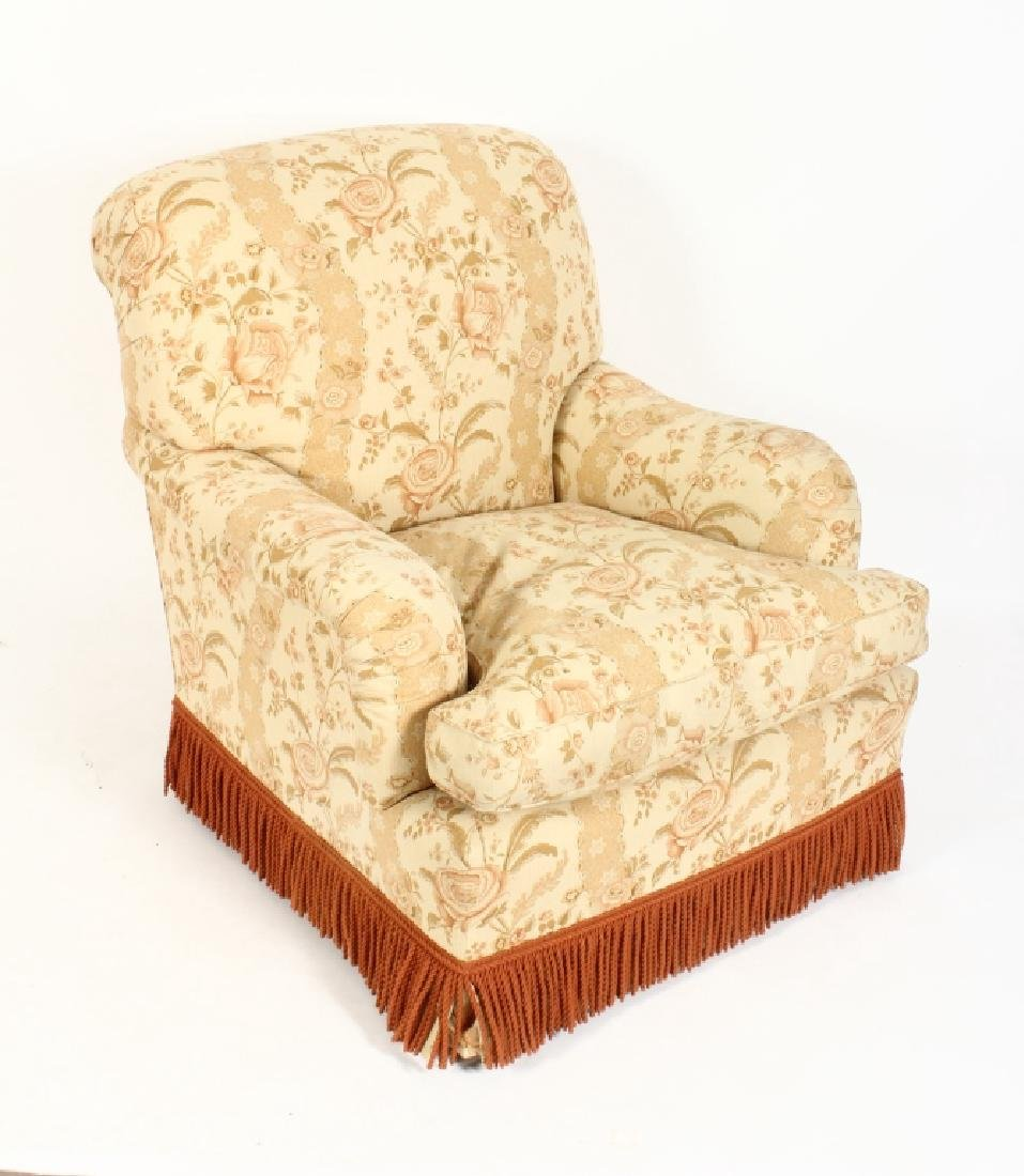 Upholstered Chaise Longue and Matching Armchair - 2
