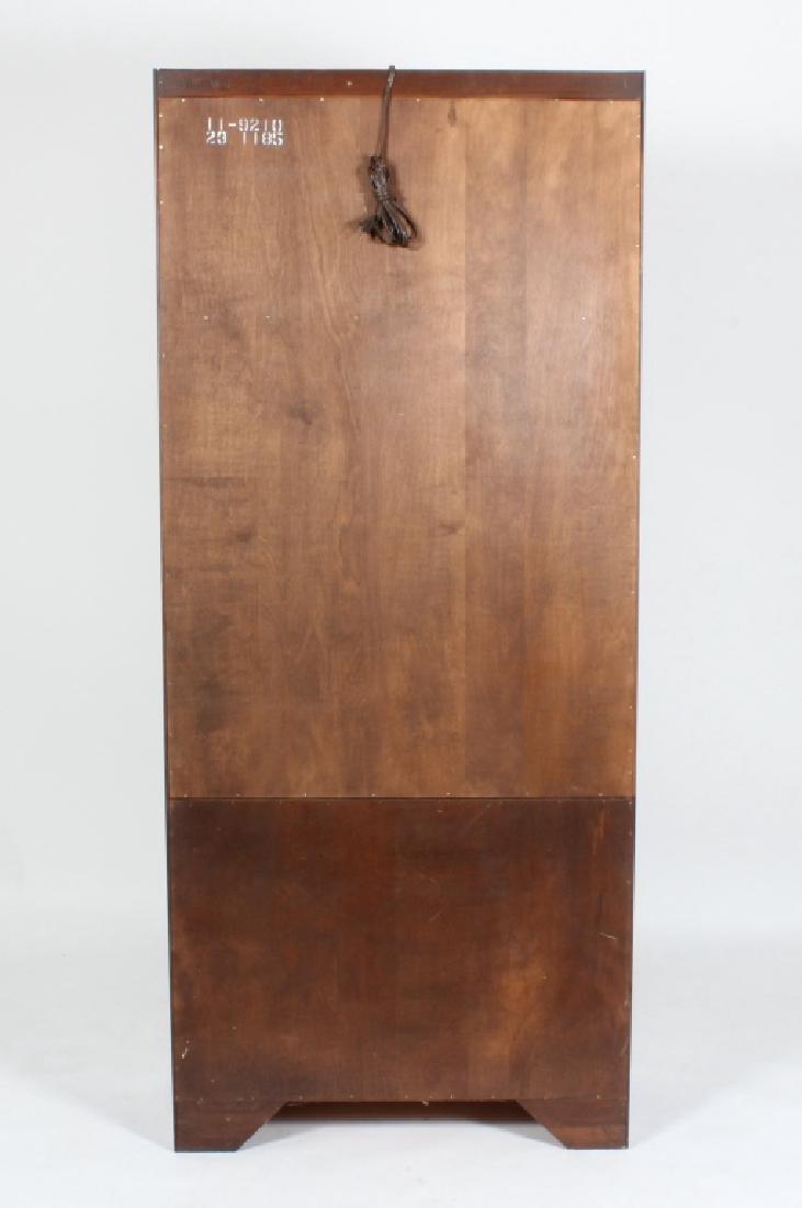 Ethan Allen Mahogany Curio Bookcase Cabinet - 6