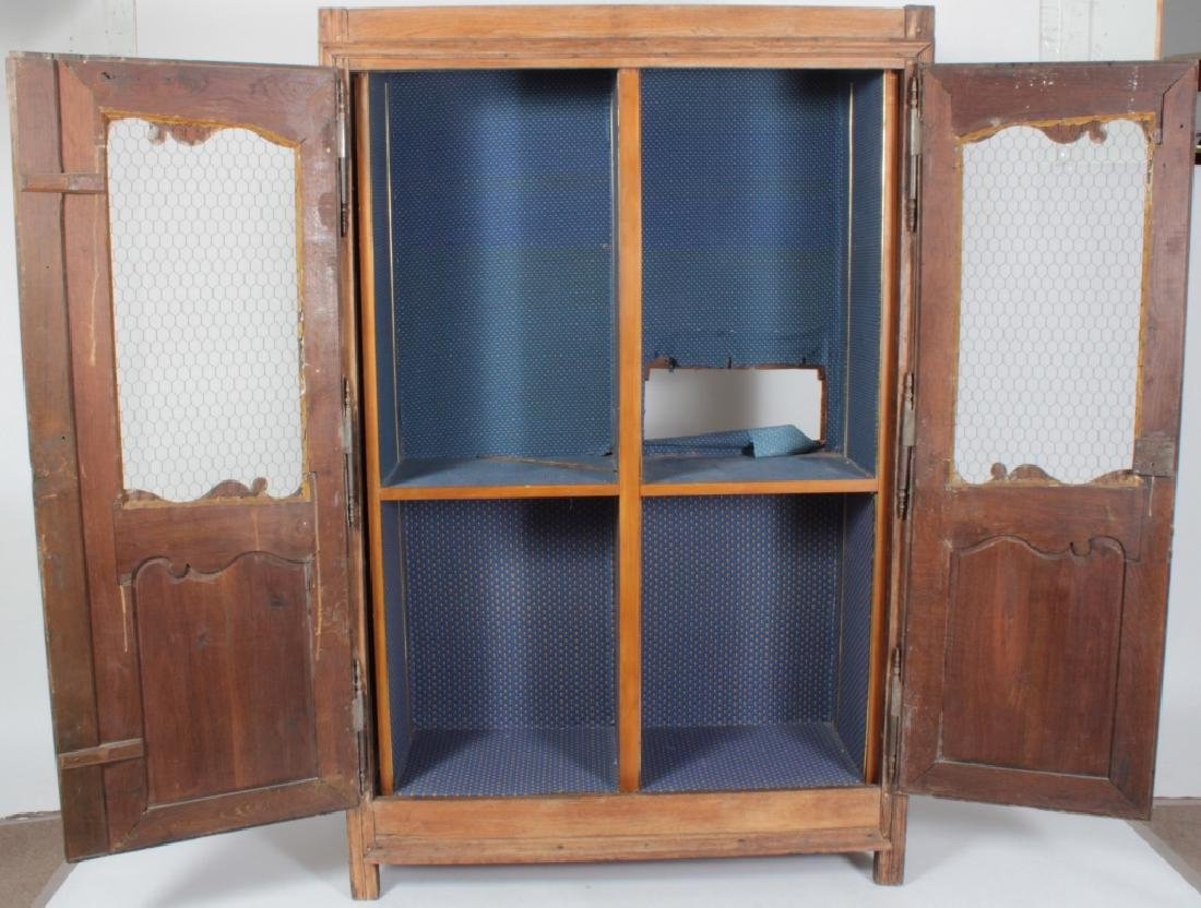 19th c. French Oak  Armoire, Refitted for Shelves - 7