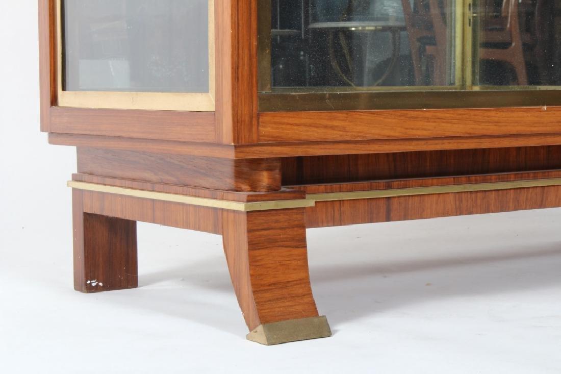 Art Deco Exotic Wood Curio Cabinet, c. 1930 - 2
