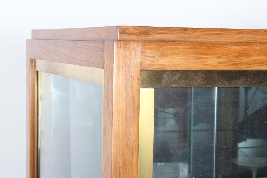 Art Deco Exotic Wood Curio Cabinet, c. 1930 - 3