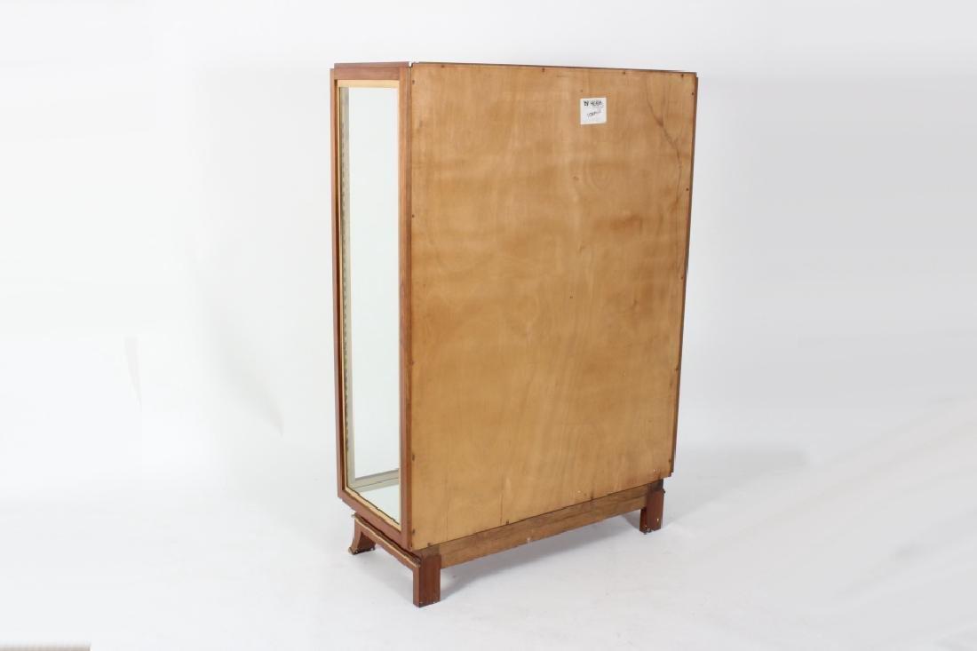 Art Deco Exotic Wood Curio Cabinet, c. 1930 - 4