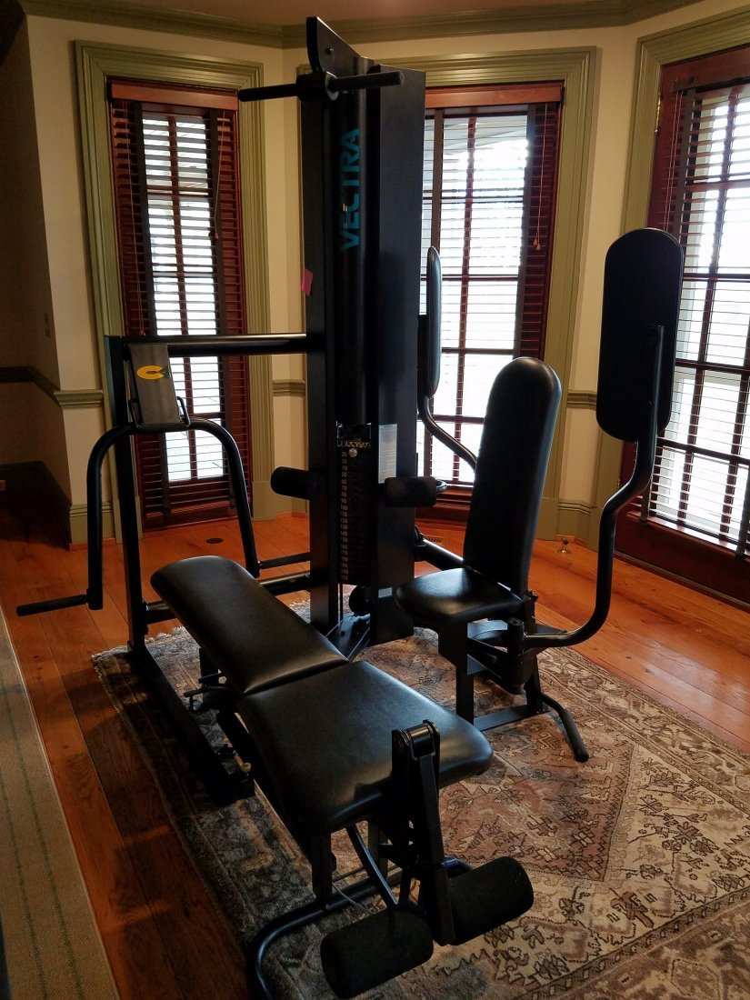 Vectra Fitness 210 lb Stack Multistation Gym
