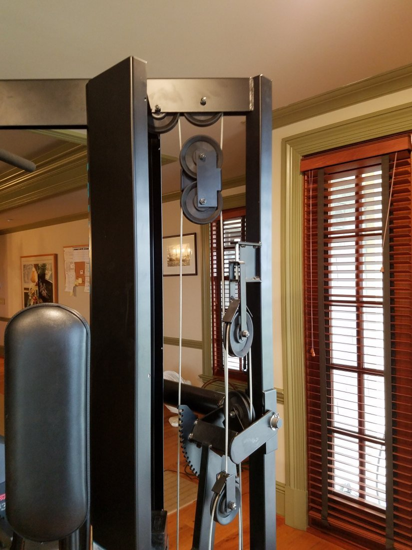 Vectra Fitness 210 lb Stack Multistation Gym - 6