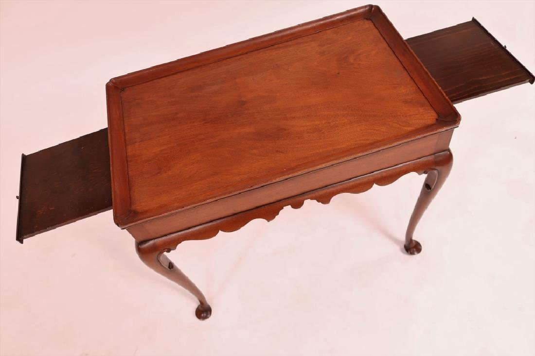 Kittinger Queen Anne Style Mahogany Tea Table - 3