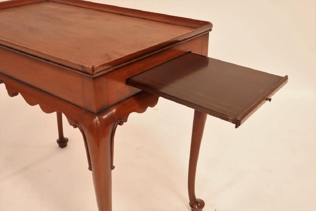 Kittinger Queen Anne Style Mahogany Tea Table - 4