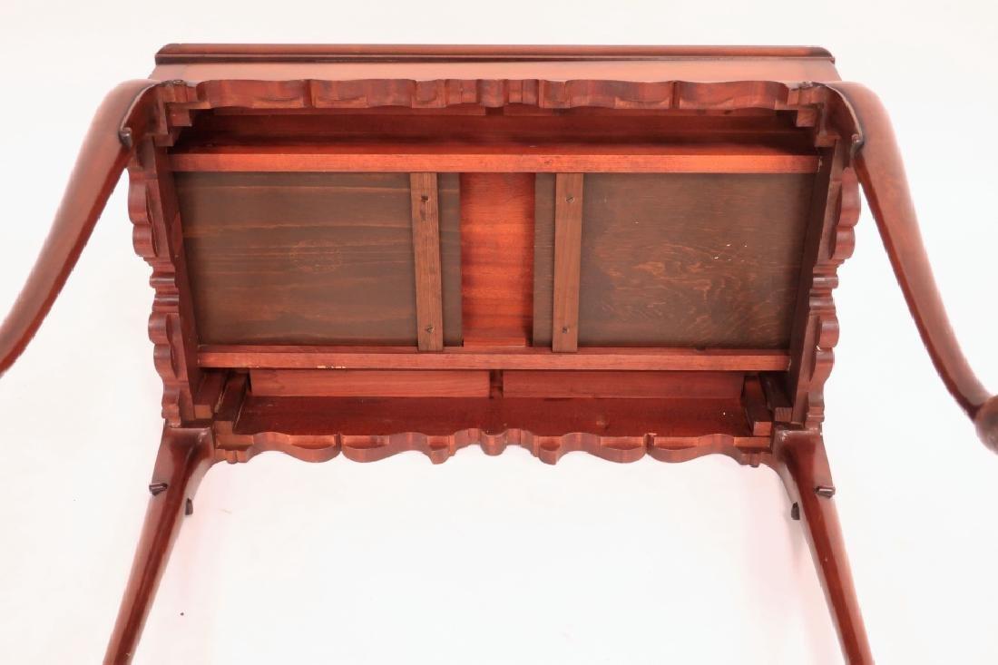 Kittinger Queen Anne Style Mahogany Tea Table - 5