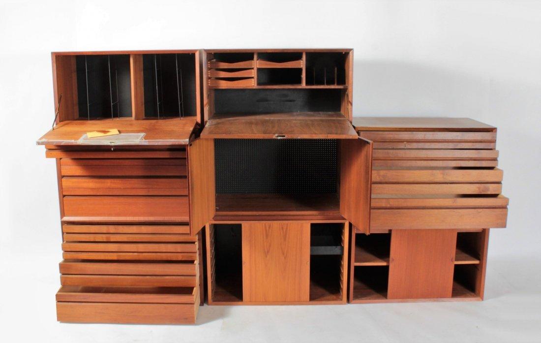 Poul Cadovius, CADO Mid Century Modern Wall Unit - 3