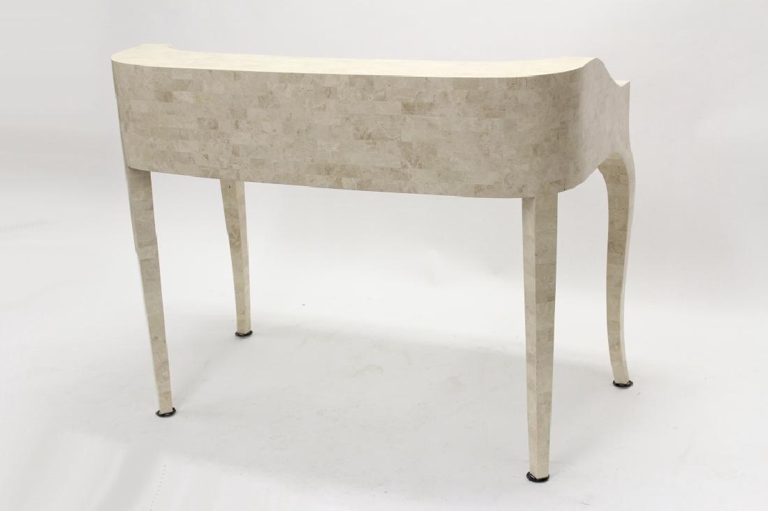 Maitland-Smith Modern Writing Desk Stone Tile - 9