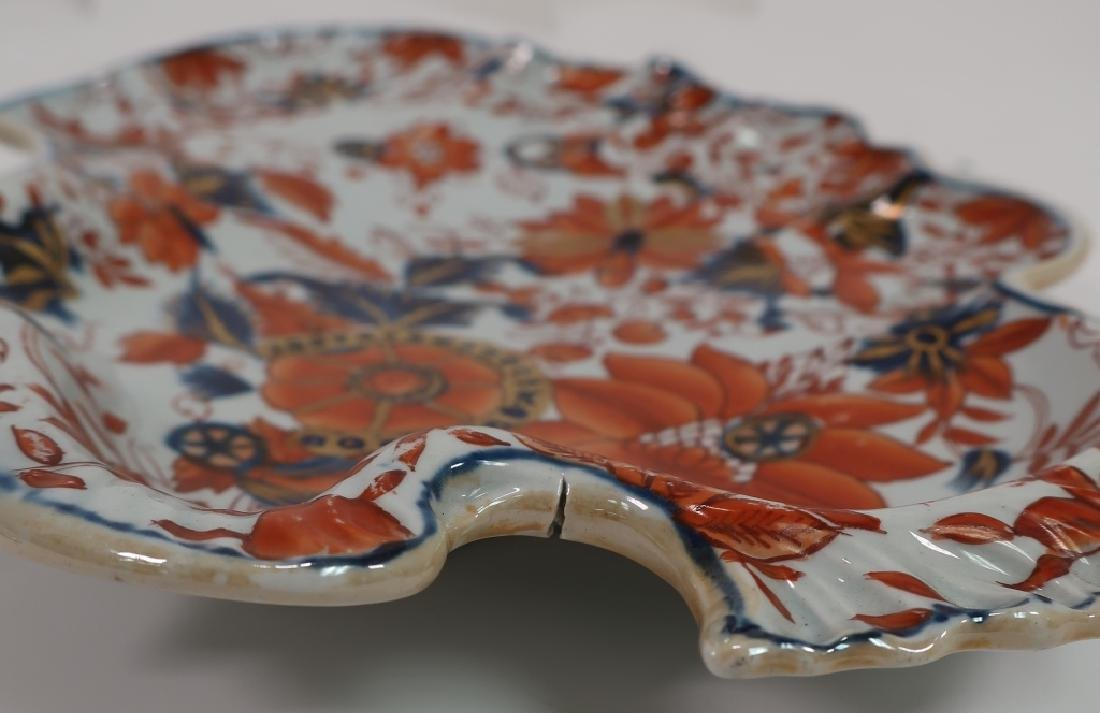 Pair of Ironstone Sweet Meat Dishes, 19th c. - 10