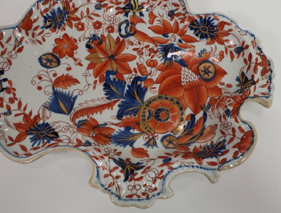 Pair of Ironstone Sweet Meat Dishes, 19th c. - 5